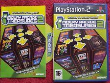 MIDWAY ARCADE TREASURES 2 BLACK LABEL SONY PLAYSTATION 2 PS2 PAL