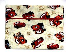 Pixar Cars Toddler Pillowcase on Tan Cotton #Pc3 New Handmade