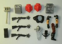 Lot GI Joe Cobra Dreadnok 1980s Original Figure Accessory Gun Weapon Backpack
