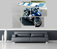 Yamaha Yzf R6 Motorbike Removable Self Adhesive Wall Picture Poster 1431