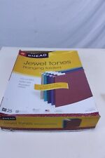 Smead Hanging File Folders with 1/5-Cut Adjustable Tab Letter Size 25 CT Box