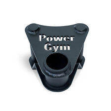 PowerGym Fitness Commercial Parallel Landmine Handle Attachment T Bar Row