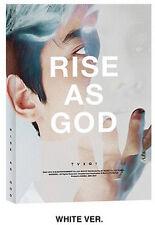 TOHOSHINKI TVXQ SPECIAL ALBUM [ RISE AS GOD ~ WHITE VERSION ] +PHOTO CARD