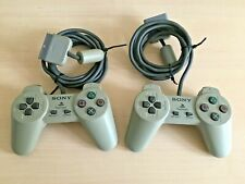 2 X Official Sony PlayStation PS1 Original Controller Comité phytosanitaire permanent - 1080-Clean & testé