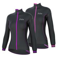 FDX Ladies Cycling SoftShell Jacket Windstopper Thermal Women's Running Jacket