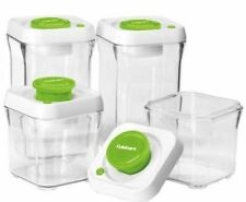 CuisinArt FreshEdge Airtight Vacuum Seal Food Storage Containers (8 Piece Set)