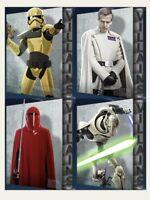 Topps Star Wars Card Trader Digital Villains Wave 3 Complete Set Of 4 Digital