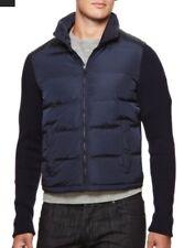 Prada new mens navy zip-up jacket Size 44