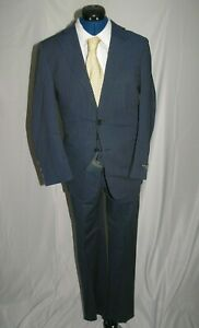 Brooks Brothers Regent Brookscool Full Canvas Two Button Suit 36S NWT