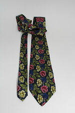 """I Guelfi 100% Silk Floral Colorful 61"""" Luxurious Dress Tie Couture Italy"""