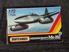 Matchbox 1/72 Messerschmitt Me 262 Düsenflugzeug, Modellbausatz in OVP
