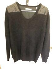 Women'S Soft Black J Brand Angora Sweater
