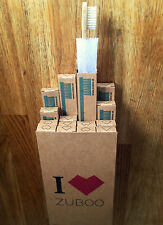 16 Zuboo Bamboo Eco Toothbrushes: Vegan, Soft Bristles, Medium*, Biodegradable