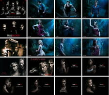 32 postcards of films TV The Vampire Diaries True Blood Nina Dobrev Paul Wesley