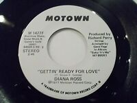 Diana Ross Gettin' Ready For Love 45 1977 Motown Promo Vinyl Record
