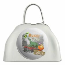 Dinosaur Train Buddy and Tiny the Naturalists White Cowbell Cow Bell Instrument
