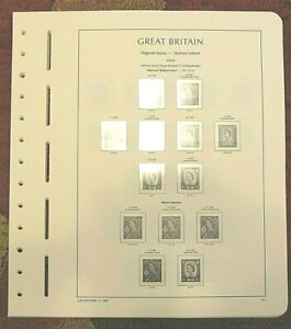 Lighthouse GREAT BRITAIN REGIONAL 1958-2014 SF Hingeless Stamp Album Pages (36)