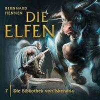 BERNHARD HENNEN - DIE ELFEN 07: DIE BIBLIOTHEK VON ISKENDRIA  CD HÖRBUCH NEU