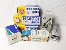 7 Vintage Projector Bulbs GE Sylvania Kondo DEK DFW CZX DAH DNE