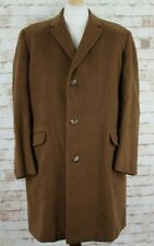 AQUASCUTUM Pure Lambswool Brow Over Coat Chest Size 46""