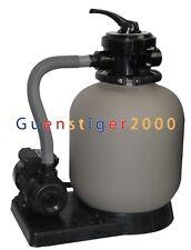 Sandfilter Sandfilteranlage Poolfilter Poolpumpe Filteranlage 8m³ Filterkessel