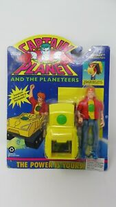 Captain Planet And The Planeteers Action Figure. Wheeler with Tread Pack