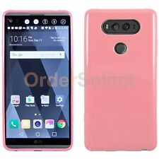 HOT! Genuine Ultra Slim Protector Candy Glossy Phone Case Cover for LG V20 Pink