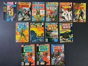 Lot of (13) Men of War (1978-80) #1-26 & Our Army at War (1963-77) DC Comics