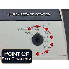 SAM4 C Cash Register Key Program Mode Samsung SAM4s Keys 5L11112