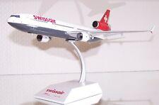 1:200 McDonnell Douglas MD-11 der SWISS AIR von JC Wings neu & OVP MD-11 metall