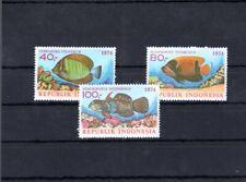 Indonesia 1974 Mi 794-96 Fish MNH 14.-Eu