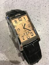 Chronoswiss Imperia Mens SS Automatic Dress Watch with copper dial + Extra Strap