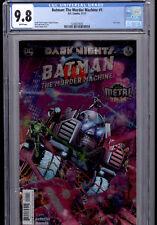 BATMAN THE MURDER MACHINE #1 CGC 9.8 FIRST PRINT FOIL COVER DC COMICS
