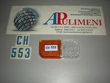 P9731 PLASTICA FANALE ANTERIORE (FRONT LIGHT) DX RENAULT R4  II SERIE P/V
