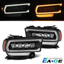 Fit 19-21 Dodge Ram 2500 NOVA-Series LED Projector Black Headlights Replacement