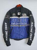 ZAA82 Men Pro Biker Proof Motorcycle Racing Type Outdoor Jacket L