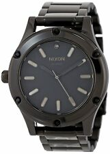 Nixon Women's A343-1150-00 Camden 41mm All Black Watch A3431150