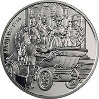 Österreich 100 Schilling 1999 Franz Ferdinand Schicksal Sarajevo 1914 im Etui
