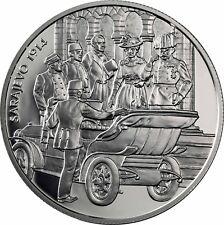 Österreich 100 Schilling Franz Ferdinand 1999 PP Schicksal Sarajevo 1914