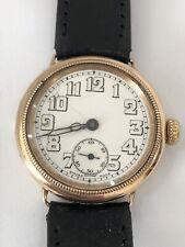 9carat Gold Vintage Zenith Manual Wind Watch