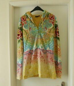 Christian Audigier Ladies  Zip Up Hoodie / jacket sz M / L