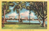 Postcard Skyline West Palm Beach Florida