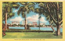 Postcard Skyline West Palm Beach Florida