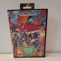 X-Men (Sega Genesis, 1993) Game And Box - Ships Free And Fast