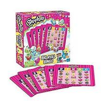 Kids Board Game Shopkins Big Roll Bingo Traditional Children Family Party Fun