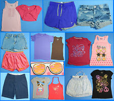 15 Piece Lot of Nice Clean Girls Size 8 Spring Summer Everyday Clothes ss44