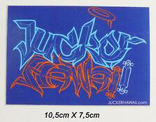 JUCKER HAWAII Longboard Skateboard Streetsurf Sticker Aufkleber (S80)