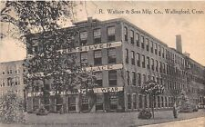 WALLINGFORD, CT ~ WALLACE & SONS MFG. CO. ~ DANZIGER & BERMAN PUB. ~ c.1910s-20s