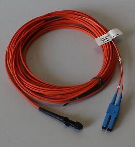 04-12-01615 Glasfaserkabel 10m Fiber-Craft GPE-922 501-MTRJ-002L010 Duplex FC