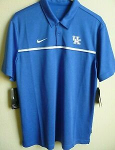 NCAA Adidas Kentucky Wildcats Coaches Performance Polo Shirt M NWT CN7848